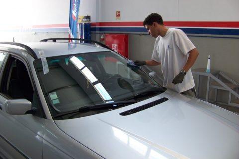 Limpeza final do veículo